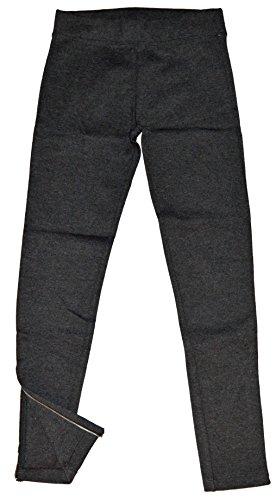 GAP Womens Charcoal Gray Zip Ponte Legging XL