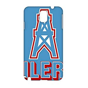 houston oilers 3D Phone Case for Samsung NOTE 3