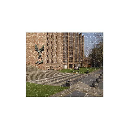 Media Storehouse 252 Piece Puzzle of Coventry Cathedral N080725 (1548053) -