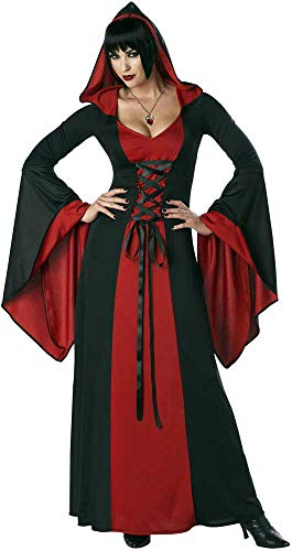 ESSA OAT clothes series Sexy Adult Women Deluxe Hooded Robe Halloween Costume]()