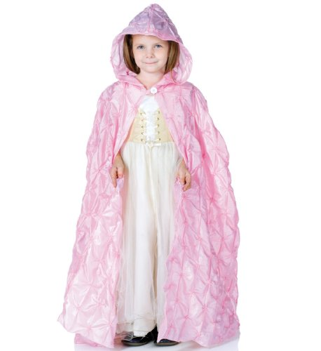 [Little Girls Renaissance Princess Pintuck Cape] (Diy Costume Vampire)