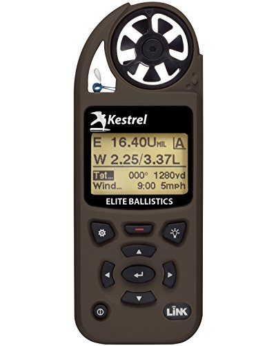 Kestrel Elite Weather Meter with Applied Ballistics and Bluetooth Link, Flat Dark Earth