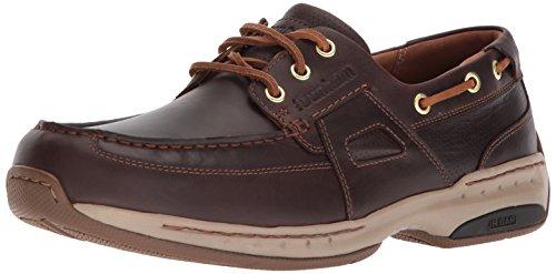 Dunham Men's Captain Ltd Boat Shoe, tan, 10.5 2E US