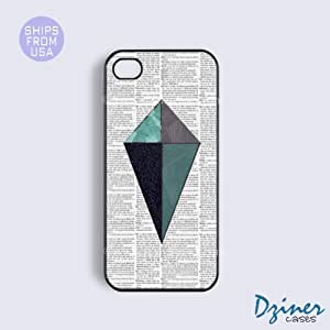MEIMEIiPhone 5c Tough Case - Newspaper Geometric iPhone CoverMEIMEI