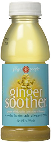 Ginger People, Ginger Soother Beverage, Honey and Lemon, 12 oz