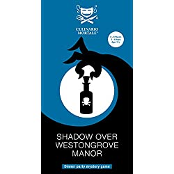 Shadow Over Westongrove Manor – Murder Mystery Dinner Party Game for 6-8 Players
