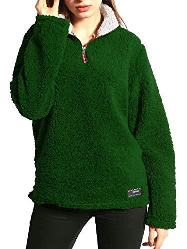 Pullover Green Donna Blackish Da Con Cappuccio Tupath Felpe Cerniera wzq8XXH