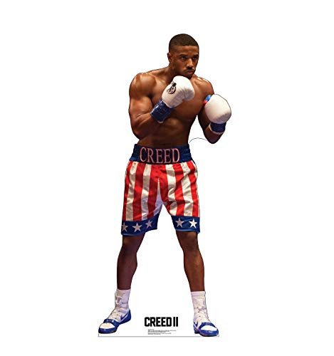 Advanced Graphics Adonis Creed Life Size Cardboard Cutout Standup - Creed II (2018 Film)