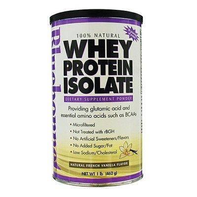 Nutrition Bluebonnet - 100% naturel isolat protéique de lactosérum en poudre naturel français à la vanille - £ 1