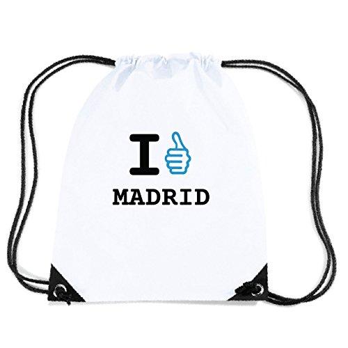 JOllify MADRID Turnbeutel Tasche GYM3603 Design: I like - Ich mag 0laik13