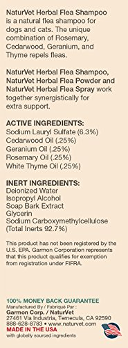 NaturVet-Herbal-Flea-Shampoo-with-Essential-Oils-for-Dogs-and-Cats-16-oz-Liquid-Made-in-USA