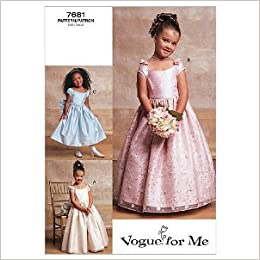 Flower girl dress pattern
