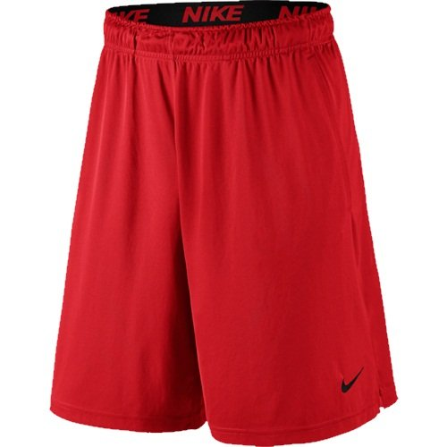 Nike Men's Fly 9-Inch Shorts - Large - University Red/Black