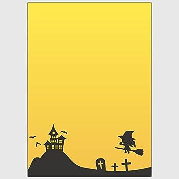Designpapier Halloween Gruselvilla Hexe Din A4 25 Blatt