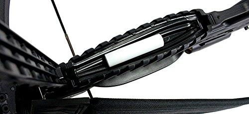 175 LBS Recurve Hunting Crossbow Package Scope Rope Arrows Sling Stringer 245 FPS