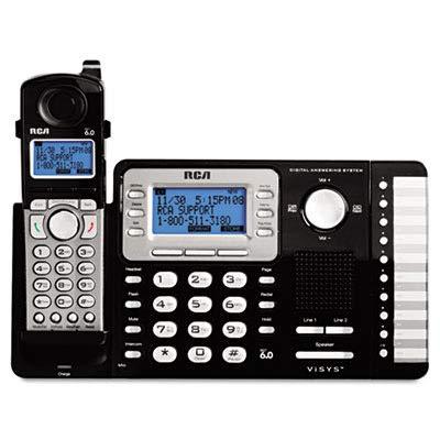 RCA25252 - RCA ViSYS Cordless Expandable Phone/Ans ()