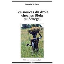 Les Sources du Droit Chez les Diola du Senegal