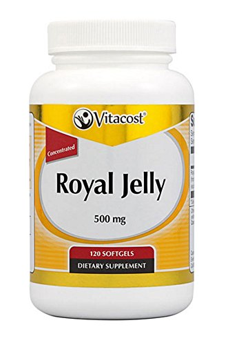 - Vitacost Royal Jelly Concentrated -- 500 mg - 120 Softgels