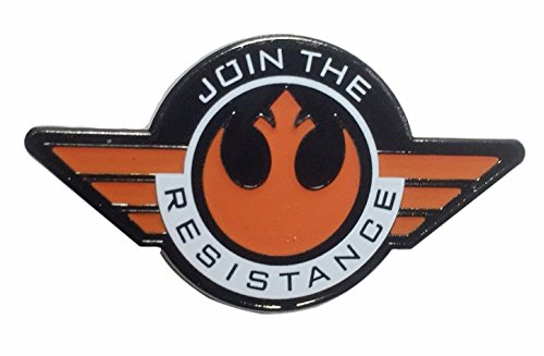 (Star Wars Join The Resistance Rebel Alliance Enamel Pin)