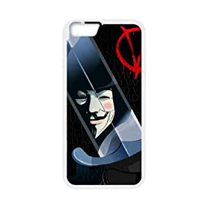 """HXYHTY V for Vendetta 3 Phone Case For iPhone 6 Plus (5.5"""") [Pattern-1]"""