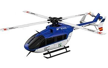 RC helicóptero Robbe Ec145 K124 Avio Tiger 6 canales, 2,4 ...
