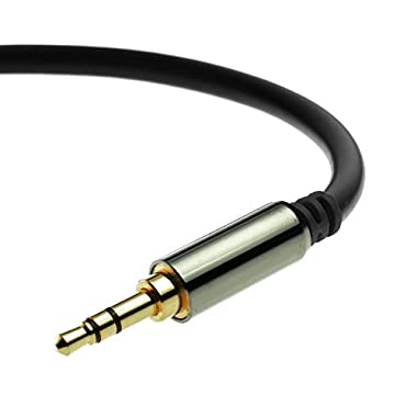 Mediabridge 3.5mm Male To Male Stereo Audio Cable (4 Feet) - Step Down Design - (Part# MPC-35-4 )