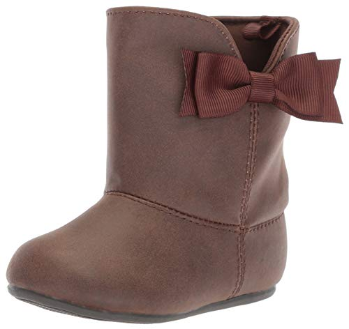 Baby Deer Girls' 02-6866 Mid Calf Boot, Chocolate, 5 Medium US Toddler ()