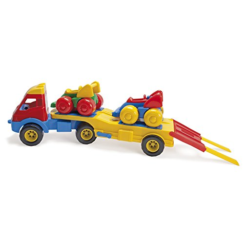 American Educational Products DT-2285 Truck and Racers Activity Set, 8.3848