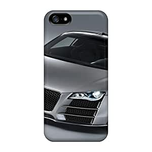 NikRun YHJTz1722ftrfD Case For Iphone 5/5s With Nice Audi R8 V12 4 Appearance
