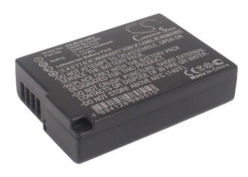 1050 mAh交換バッテリーfor Panasonic Lumix DMC - g3、Lumix DMC - dmc-zs7s   B017PDDYE8