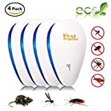Everteco Pest Control Ultrasonic Repeller for Mosquitoes- SAFE for Children and Pets