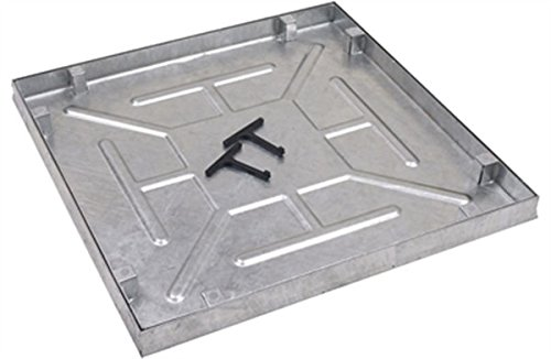 AQK 6060. 600 X 600 X 43.5mm Water & Odour Tight Recessed Manhole Cover Clark Drain