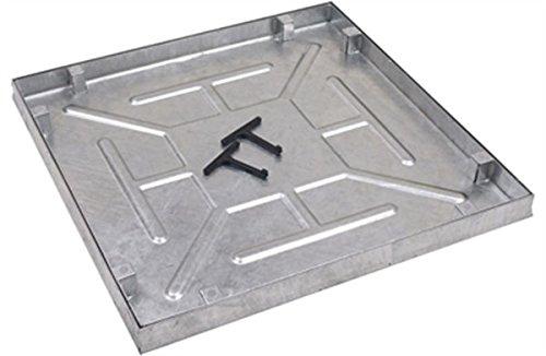AQK 6060. 600 X 600 X 43.5mm Water & Odour Tight Recessed Manhole Cover Clark Drain