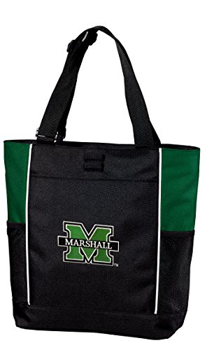 Marshall Tote Bag Colorblock Marshall University Totes Beach Pool Or Travel