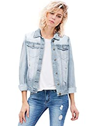 Women Junior Classic 4 Pockets Denim Jacket