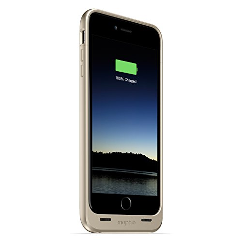 mophie juice pack - Protective Battery Case for iPhone 6 Plus / 6s Plus (2,600mAh) - Gold