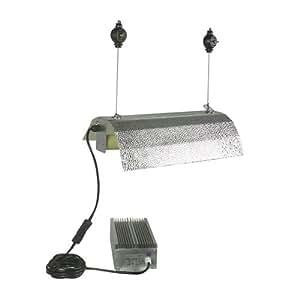 LEDwholesalers GYO2002 4-Piece 400 Watt Hydroponic Reflector Grow Light Set