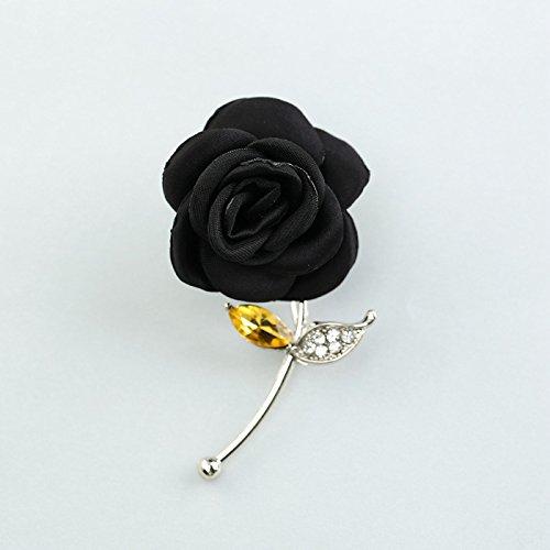 Buena TIANLU La vida moderna Broche Flores Broche flores femeninas telas  aleación Estilo pin Rose Collar 7c59b297c206