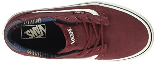 Mid Vans Mixte Rouge Running de Chapman Brown Madder Chaussures Marshamallowmte Enfant MTE wqnx5CrYq4