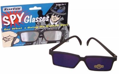 Westminster 0079 Rearview Spy Glasses - Pack of 12