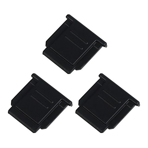 (3 Pack) VKO Hot Shoe Cover Compatible for Sony A6500 A6300 A6000 A77II A7II A7III A7RII A7RIII A7SII A58 A68 A99 A99II NEX-6 RX1 RX1RII RX10II RX100II DSC-HX400 DSC-HX50 DSC-HX60 Replaces FA-SHC1M