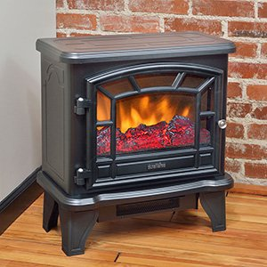 Duraflame DFS-550-21-BLK Maxwell Electric Stove with Heater 1500W, Black