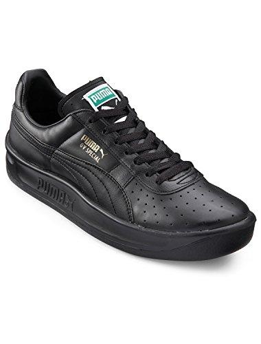 PUMA Men's GV Special Sneaker,Black/Black/Gold,14 M - Driver Leather Boot