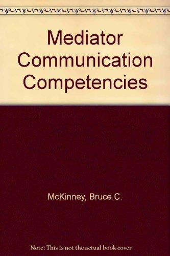 Mediator Communication Competencies