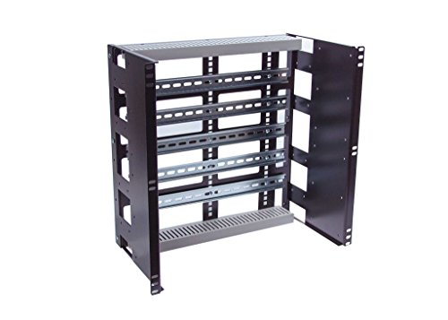 Rackmount Din Rail Panel 10U by IAENCLOSURES