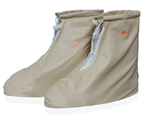Reusable Boot Anti Shoes Men Motorcycle Kids Foldable Women for Cover Waterproof Eagsouni Bicycle Rain Snow Rain Slip Khaki Overshoes vqwf4HY
