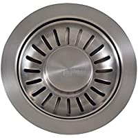 Franke 906SN Strainer Basket Unit, Satin Nickel by Franke