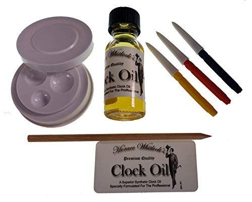 Horace Whitlock Synthetic Clock Oil Kit