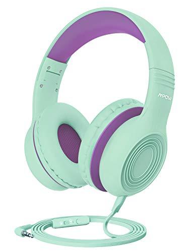 Mpow Kids Headphones, CH6 Children Headphone Over Ear, Wired Headset Volume...
