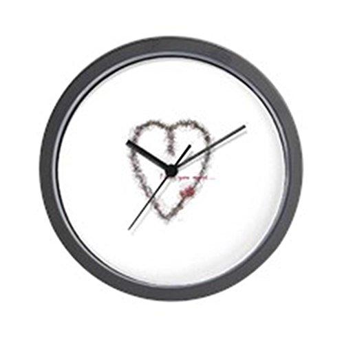 CafePress - I Love You More Wall Clock - Unique Decorative 10